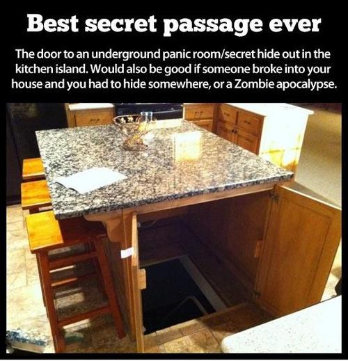 Kitchen Island Best Secret Passage Ever