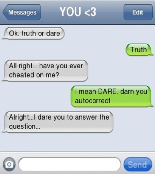 Truth Or Dare Ideas Over Text