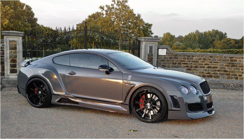 Custom Bentley Coupe Gt Quot Premier 4509 Wide Body Kit Quot Vad