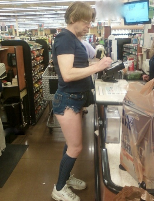 Hot Legs at Walmart - Who Wears Short Shorts?