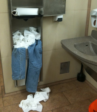 lose your pants in the walmart bathroom funny pictures at walmart