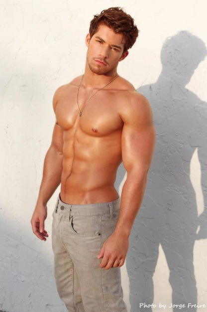 Julian Gabriel Sexy Abs Eye Candy! My Latin Lover with No
