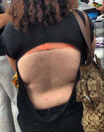 Open Back Tops At Walmart Wash Your Dirty Hairy Back