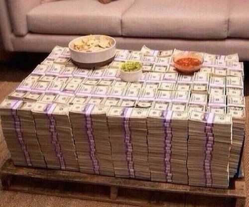 Most Expensive Coffee Table Ever All Cash