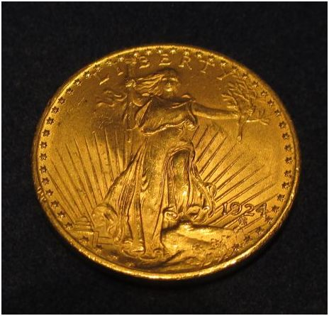 saint gaudens 20 gold coin 1924 p classified ad. Black Bedroom Furniture Sets. Home Design Ideas