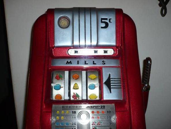 mills 5 cent slot machines