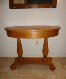 Antique Tiger Oak Library Table - Classified Ad