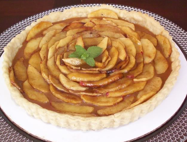 Caramel Apple Tart - Recipe