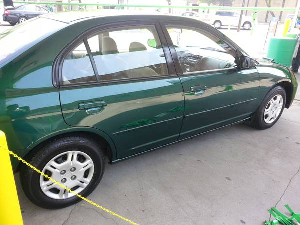 2002 honda civic sedan lx for sale great gas saver for Honda civic for sale in chicago