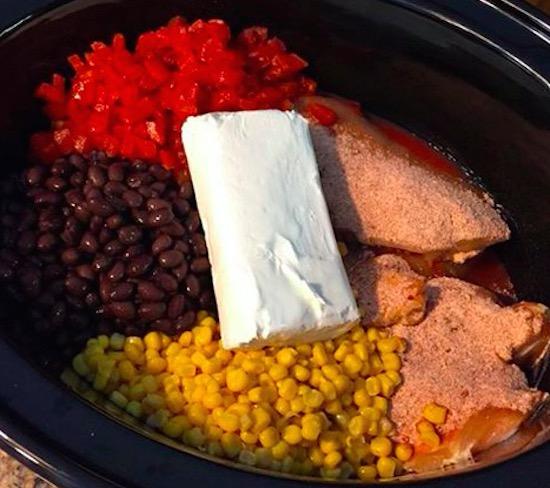 Slow Cooker Southwest Fiesta Chicken - Recipe