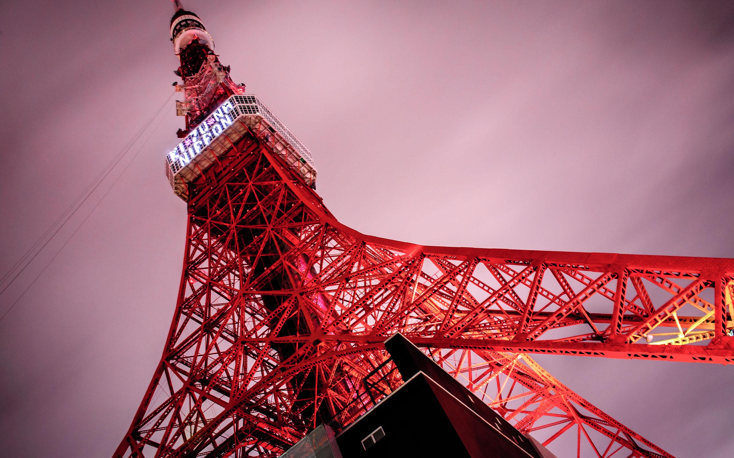 Tokyo Tower Tokyo Japan Wallpaper Faxo Faxo