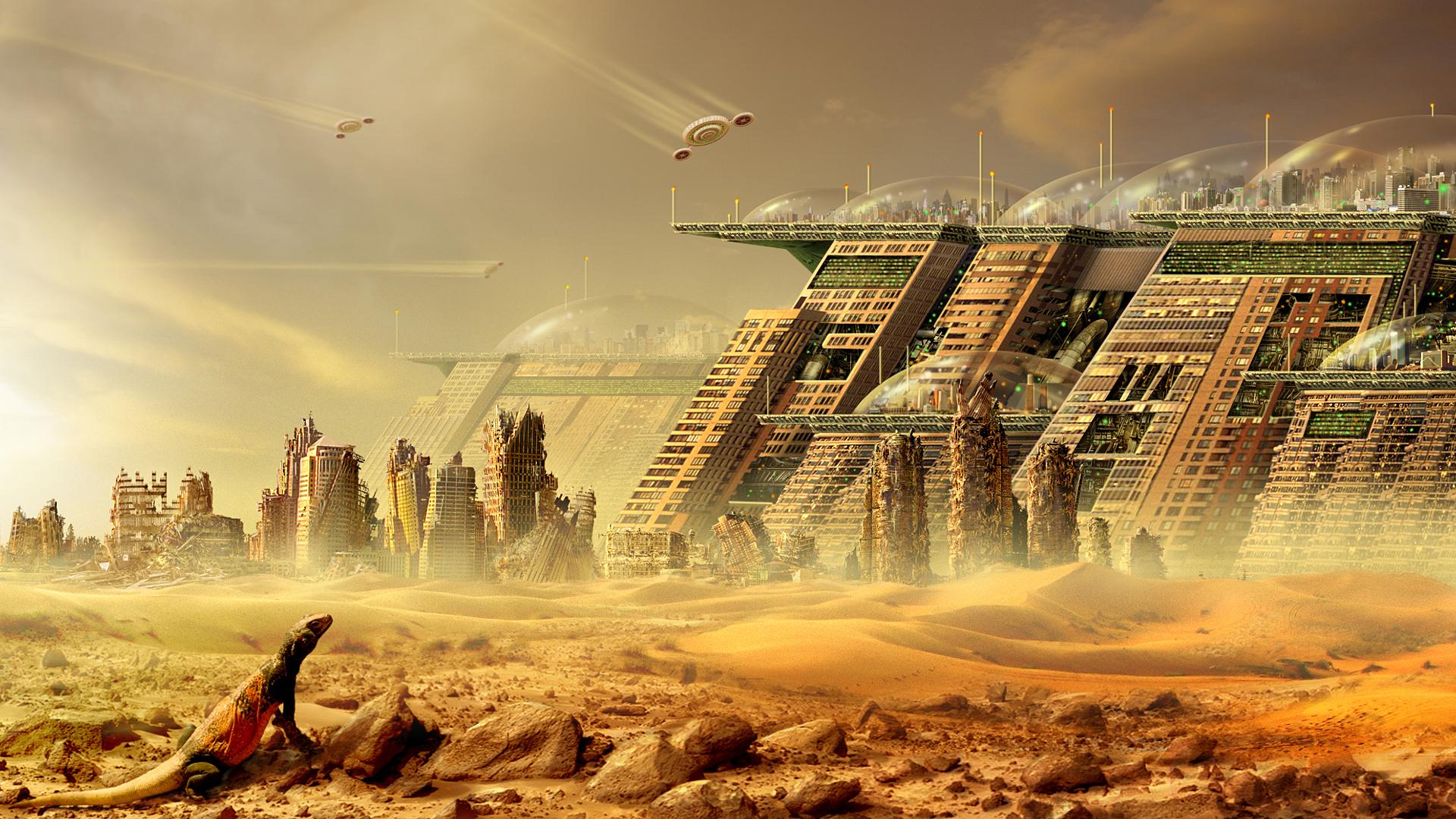 Futuristic Buildings Wallpaper Faxo Faxo