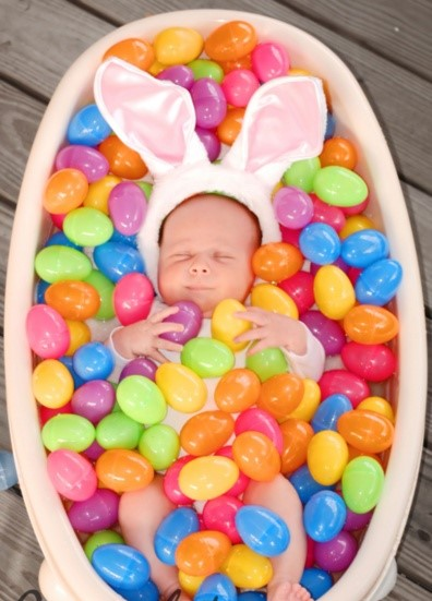 The Easter Bunny Baby Cute Faxo