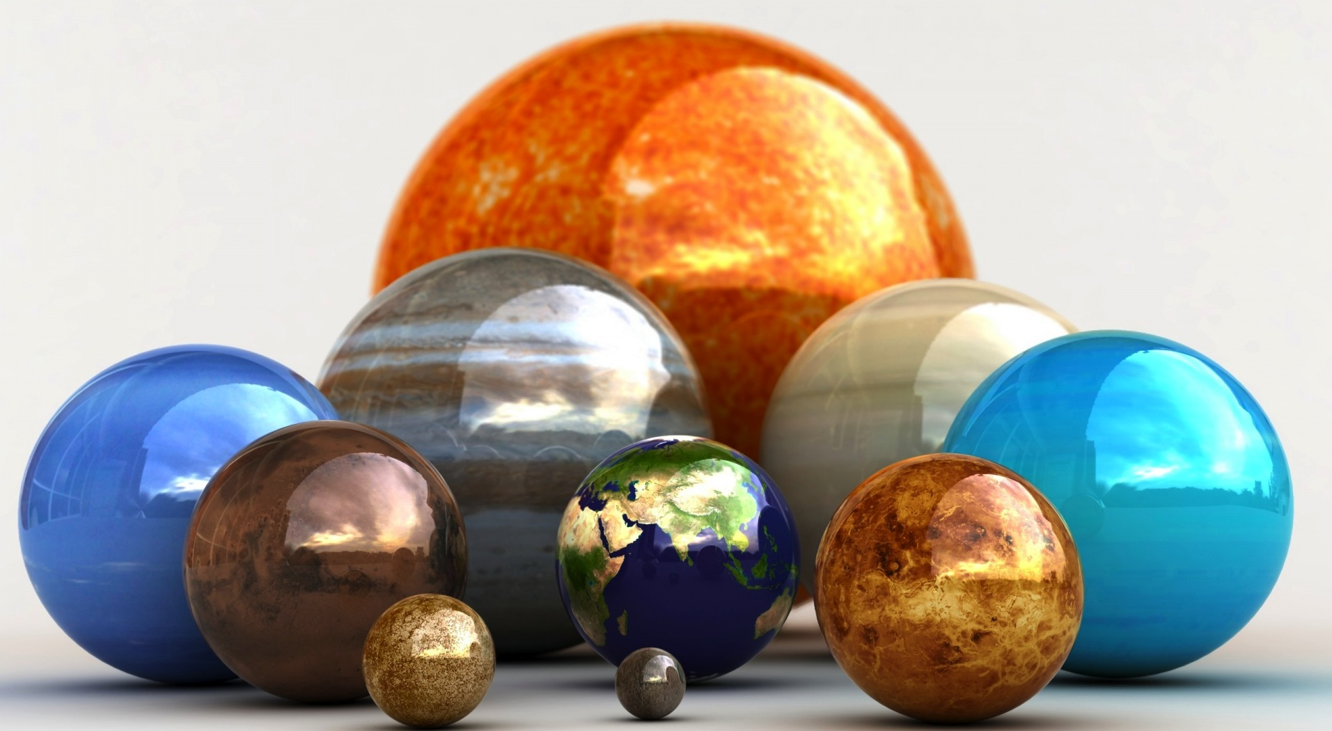 solar system glassware - photo #16