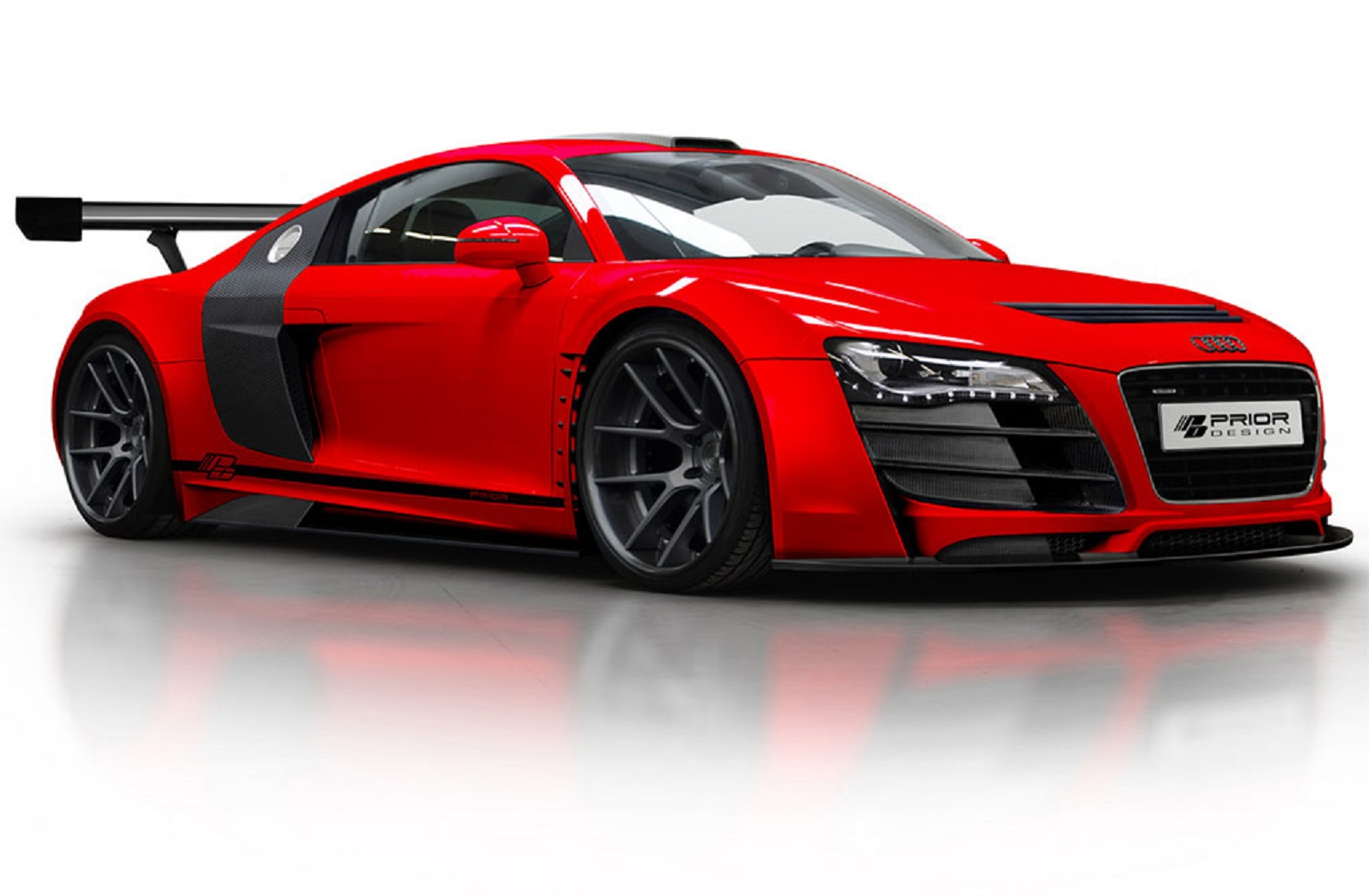 red custom audi r8 pd gt850 wallpaper autos faxo. Black Bedroom Furniture Sets. Home Design Ideas