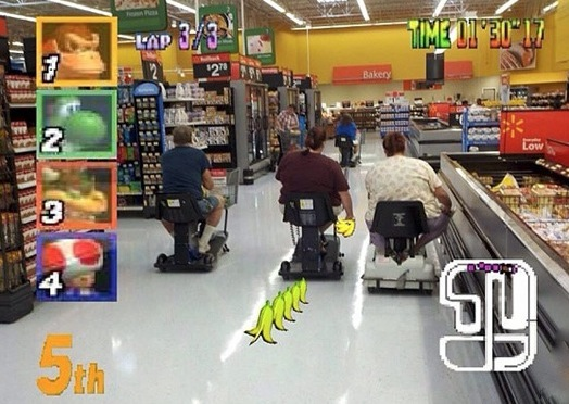 Mario Kart Scooters Video Game At Walmart Walmart Faxo
