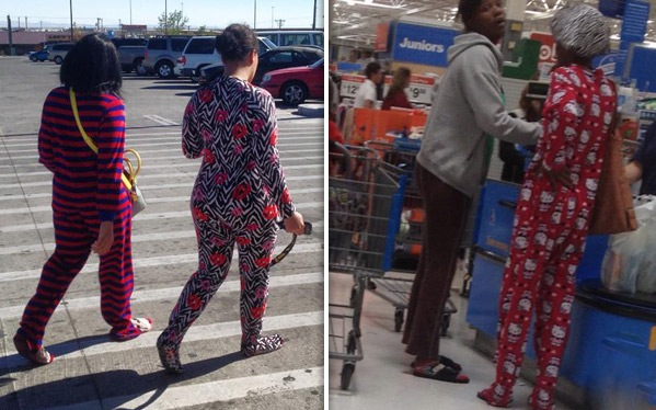 Pajama Party At Walmart Wear Your Pajamas With Feet
