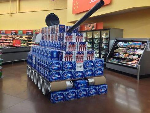 Beautiful Bud Light Tank At Walmart   Walmart   Faxo Great Ideas