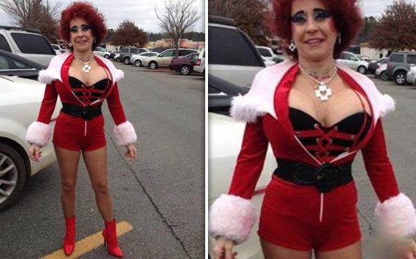 Transvestites at christmas