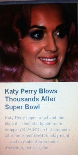 Katy perry blowjob video