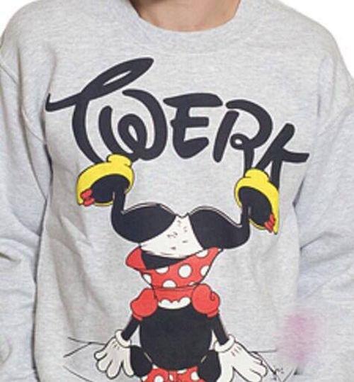 Minnie Mouse Twerking T-Shirt - Walt Disney Does Dancing -3127