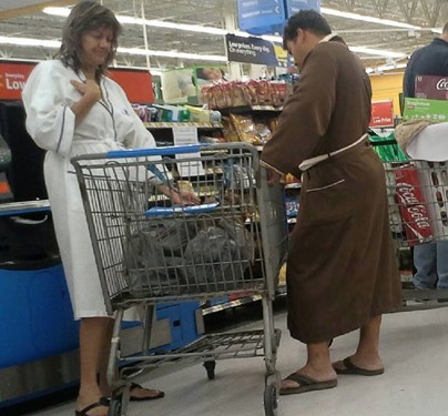 Mens And Womens Bath Robes At Walmart Hop Out Of The