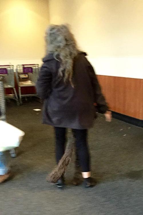Extra Long Extra Gross Dreadlocks Tail Hair Fail at