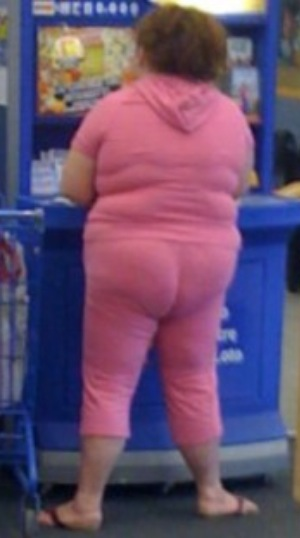 Pretty in Pink Tight Sweatsuits at Walmart Classy People