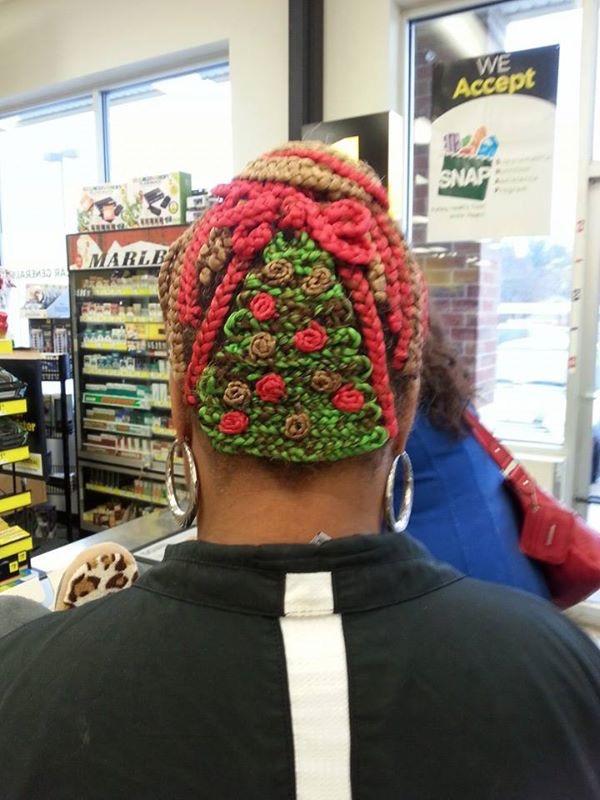 Christmas Tree Weave Walmart Hair Fail Walmart Faxo