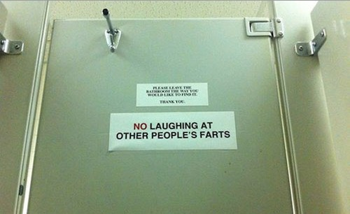 Toilet Signs Funny Humor