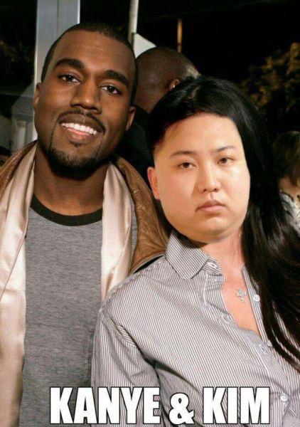ZXnhdOw_zk - Kim & Kanye - Jokes and Humor
