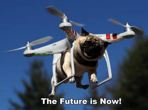 Amazon Testing Out New Drone Delivery System Pug Copter