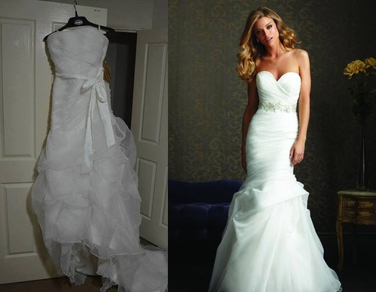 Fashion Fail: Wedding Dress