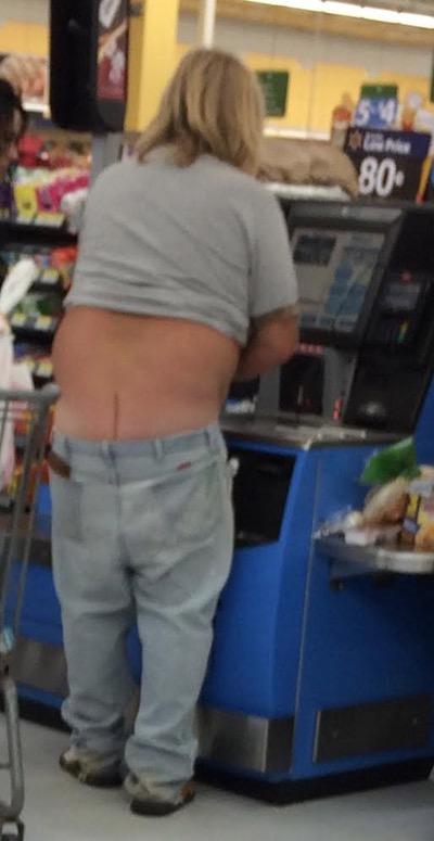 Flat Butt Crack At Walmart - Walmart - Faxo-8302