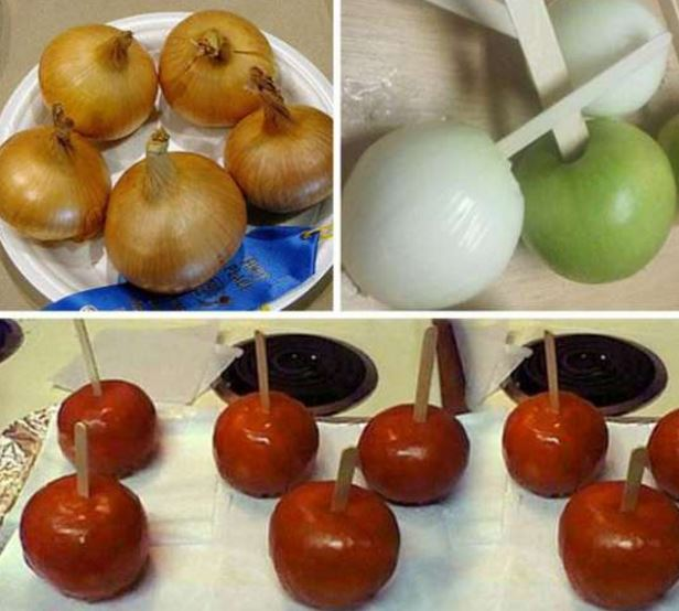 Ultimate Prank: Onion-Apple Candy