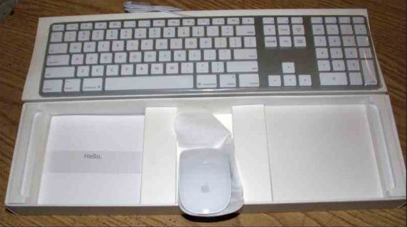 brand new in box apple slim usb full size keyboard and magic mouse classified ad. Black Bedroom Furniture Sets. Home Design Ideas